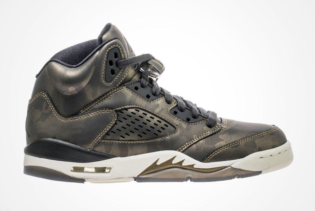 Air Jordan 5 Gs Camo 4