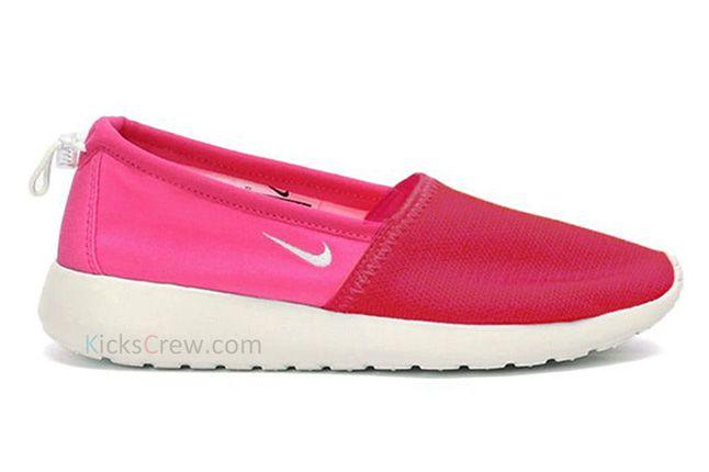 Nike Roshe Run Slip Sport Fuchsia Pink Force 1
