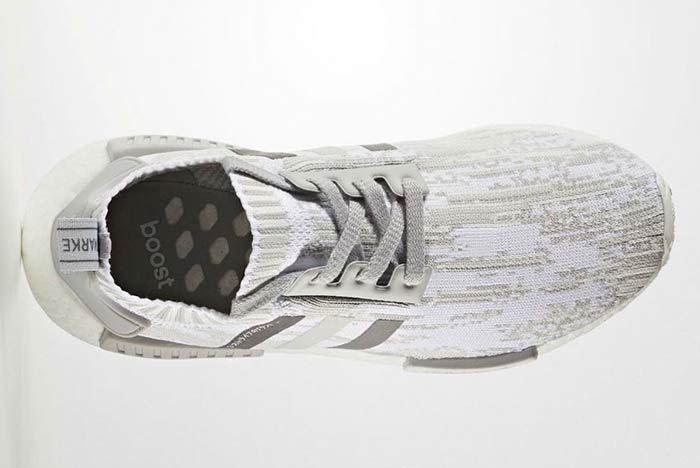 Adidas Nmd R1 Primeknite Grey 4