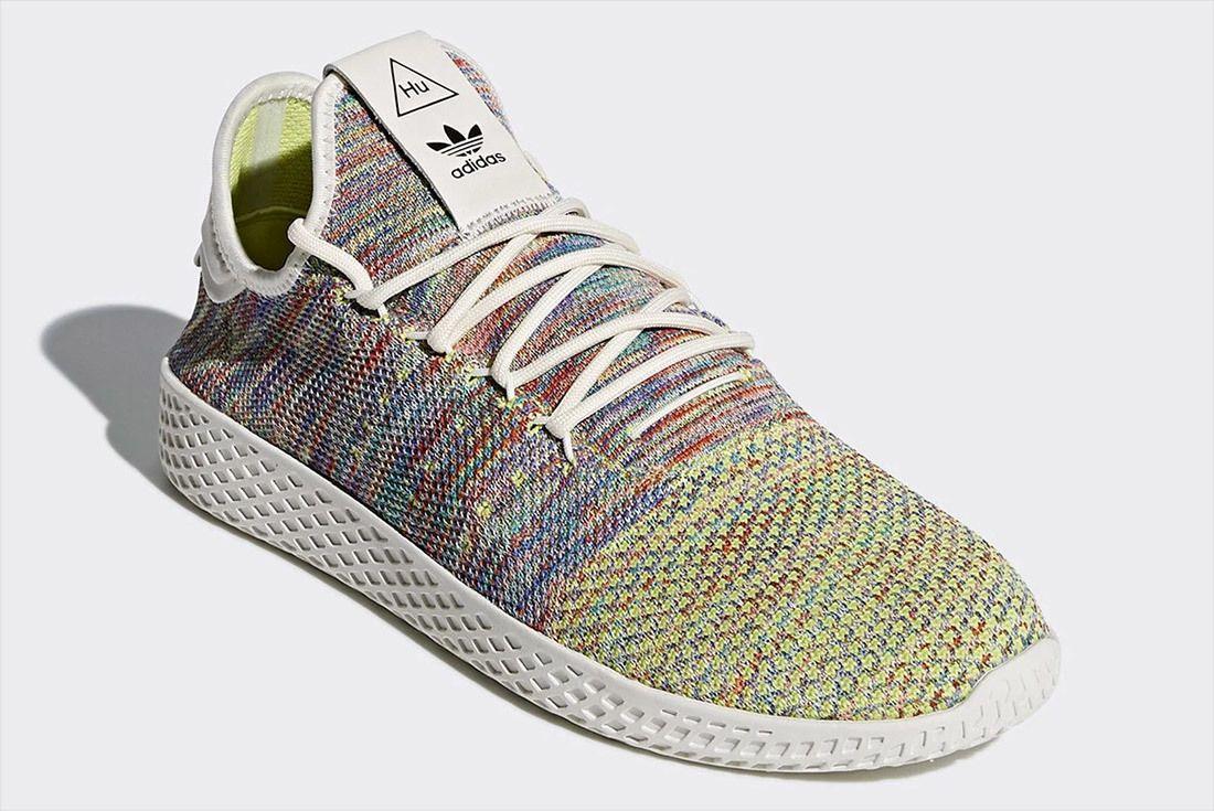 Pharrell Williams Adidas Tennis Hu Multicolour Rainbow 4