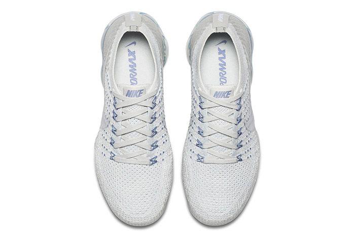 Nike Womens Air Vapormax White Blue 3
