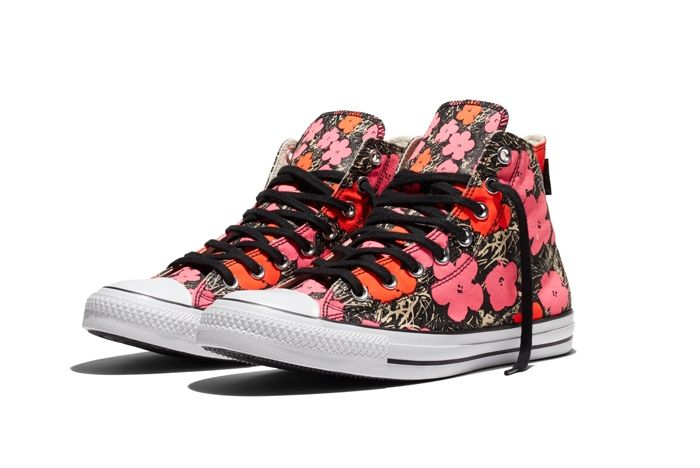 Converse Chuck Taylor All Star Andy Warhol Floral Pair 1