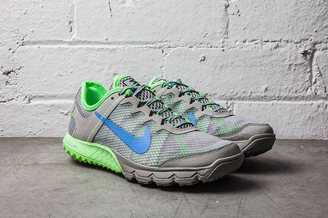 Nike Zoom Wildhorse Mercury Grey Flash Lime 2