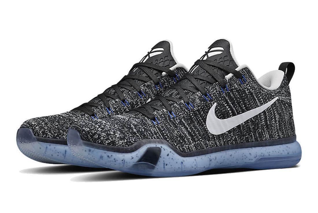 Nike Kobe 10 Elite Low HTM 'Oreo'