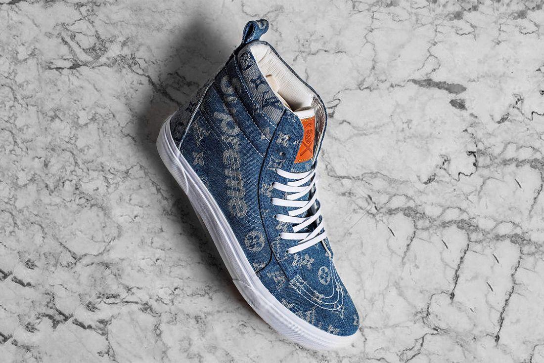 Supreme X Louis Vuitton Vans Sk8 Hi 1