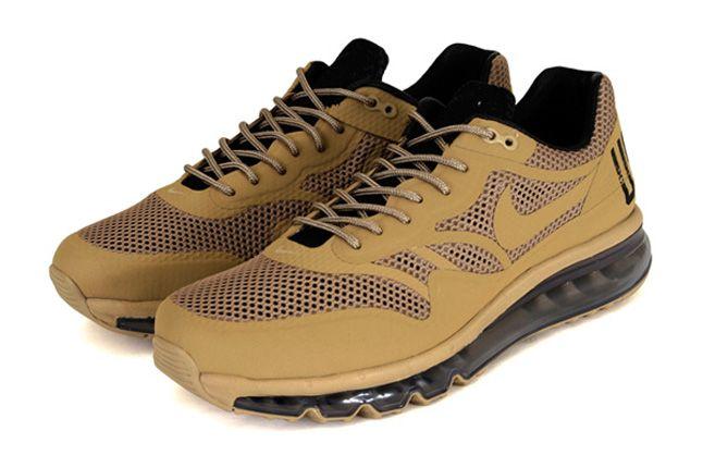Nike Air Max 1 2013 Qs Usatf Pack Desert Yellow Pair 1