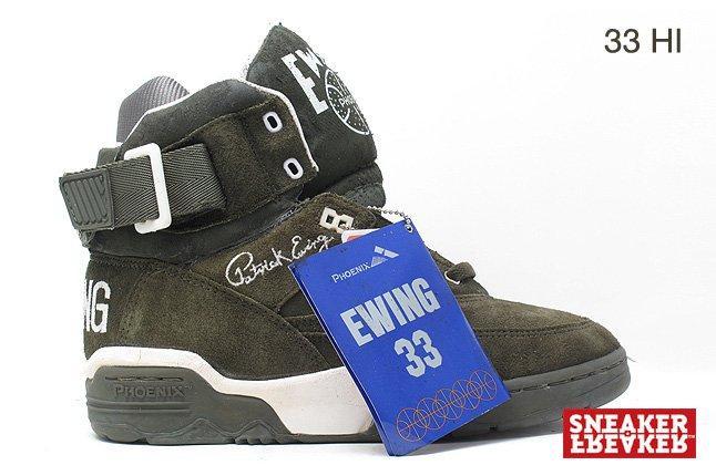 Ewing Sneakers Black 33 Hi Tag 1