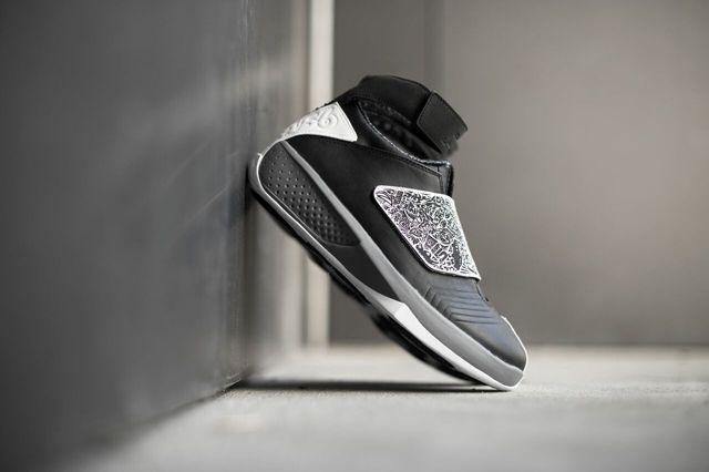 Air Jordan 20 Black White Bump 3