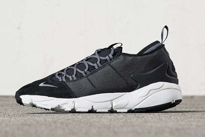 Nike Air Footscape Nm Black Suede 4
