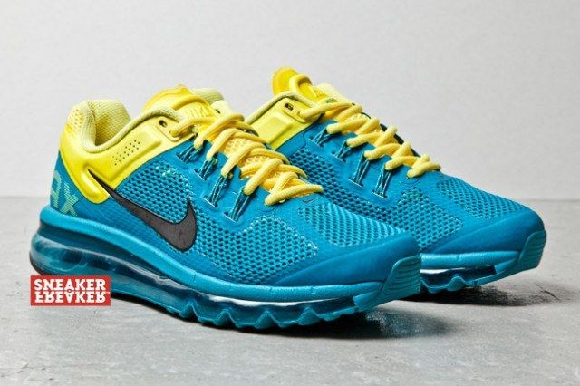 Nike Wmns Air Max Plus 2013 Tropical Teal Sonic Yellow 2 1 640X426