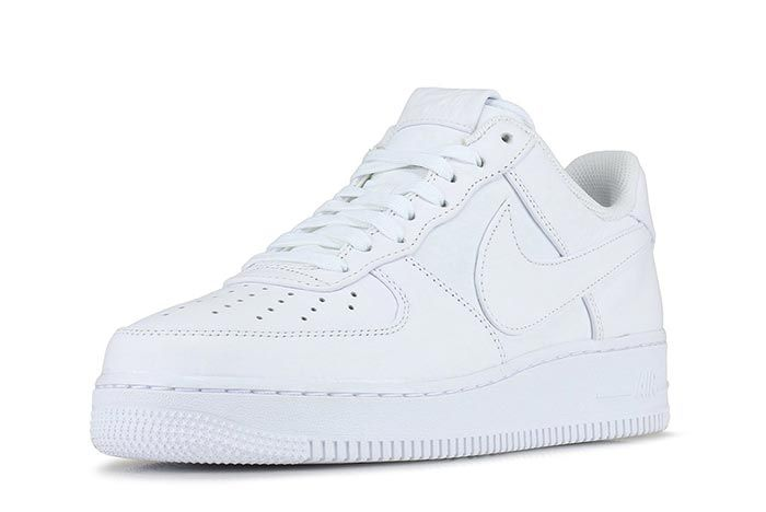 Nike Air Force 1 Low Big Swoosh At4143103 Front Angle Shot 4