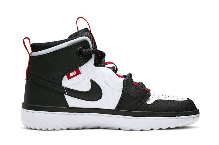 Air Jordan 1 React White Black Red Ar5321 016 Release Date Medial