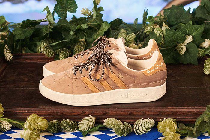 Adidas Munchen Made In Germany Oktoberfest Beige Lateral
