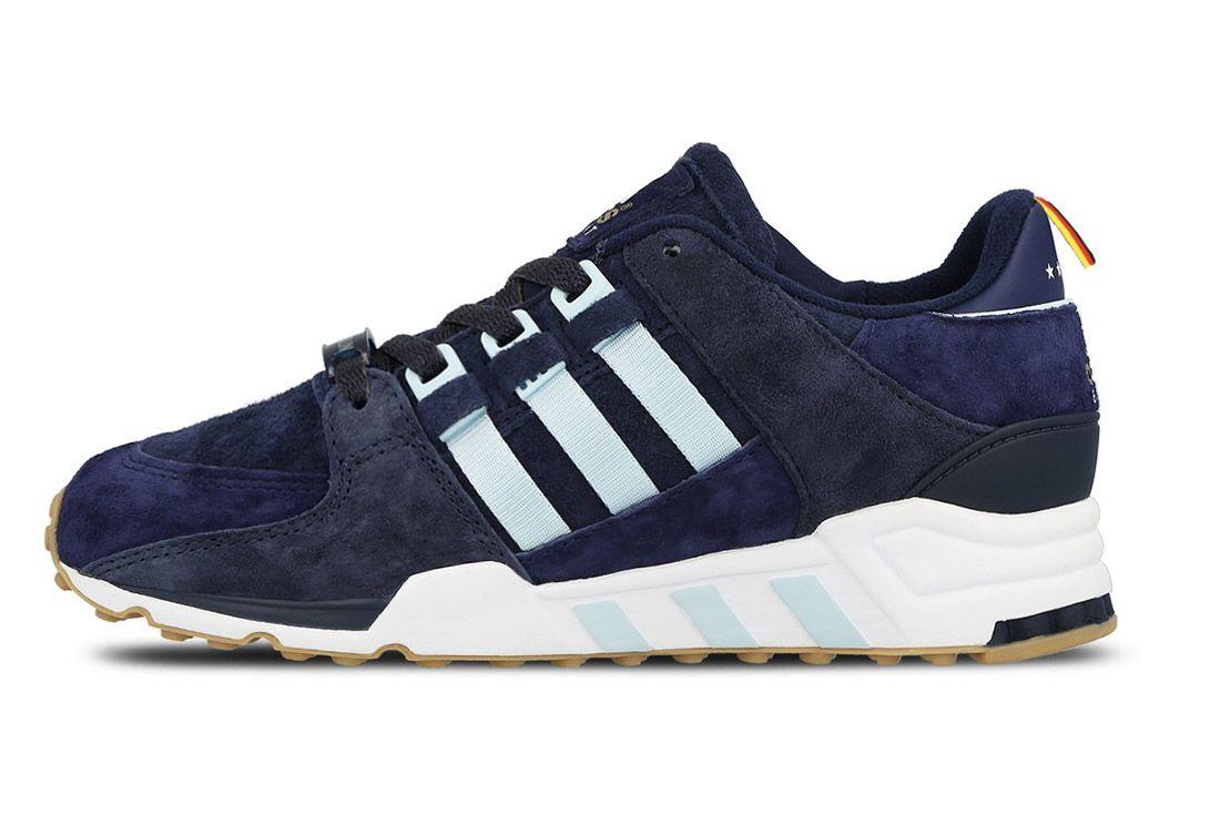 Adidas Eqt Support 93 Berline Marathon Collegiate Navy Dark Burgundy Small