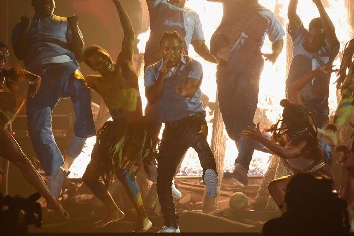 Reebok Kendrick Lamar Grammy 2