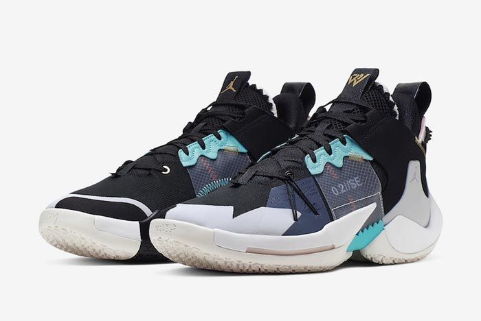 Jordan Why Not Zer0 2 Vast Grey Pair