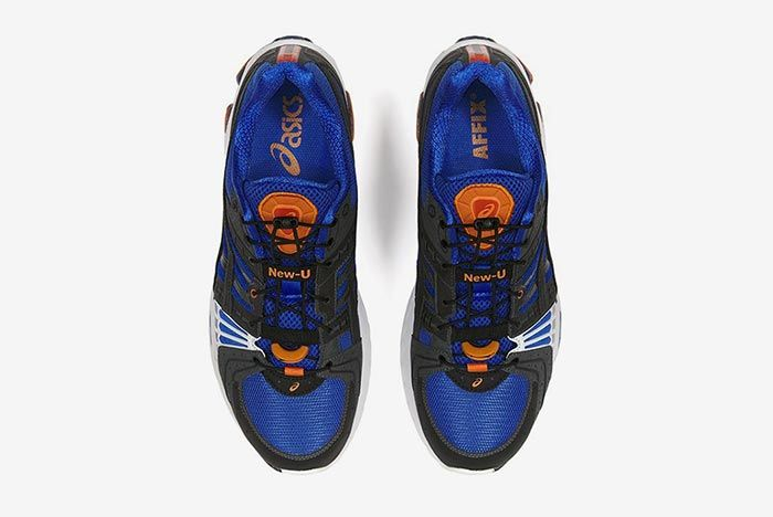 Affix Works Asics Gel Kinsei Blue Top Shot