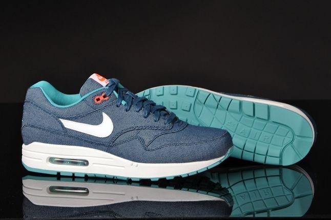Nike Air Max 1 Prm Turquoise Denim Hero Sole 1