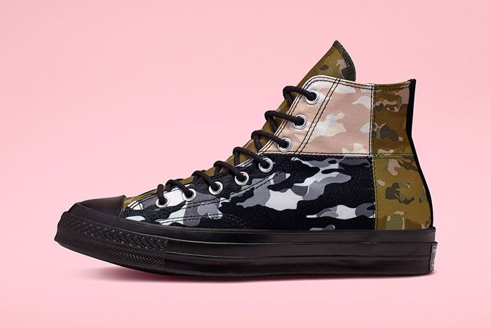 Converse Chuck 70 High Mixed Camo Lateral