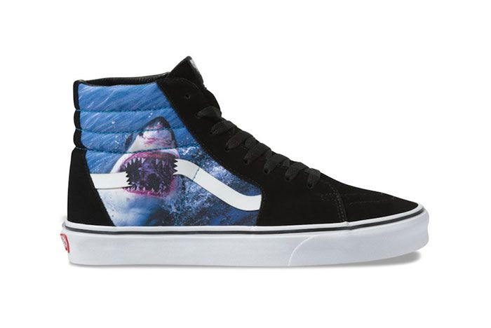 Vans Sk8 Hi Shark Week 2019 Collection Release Date 1 Side