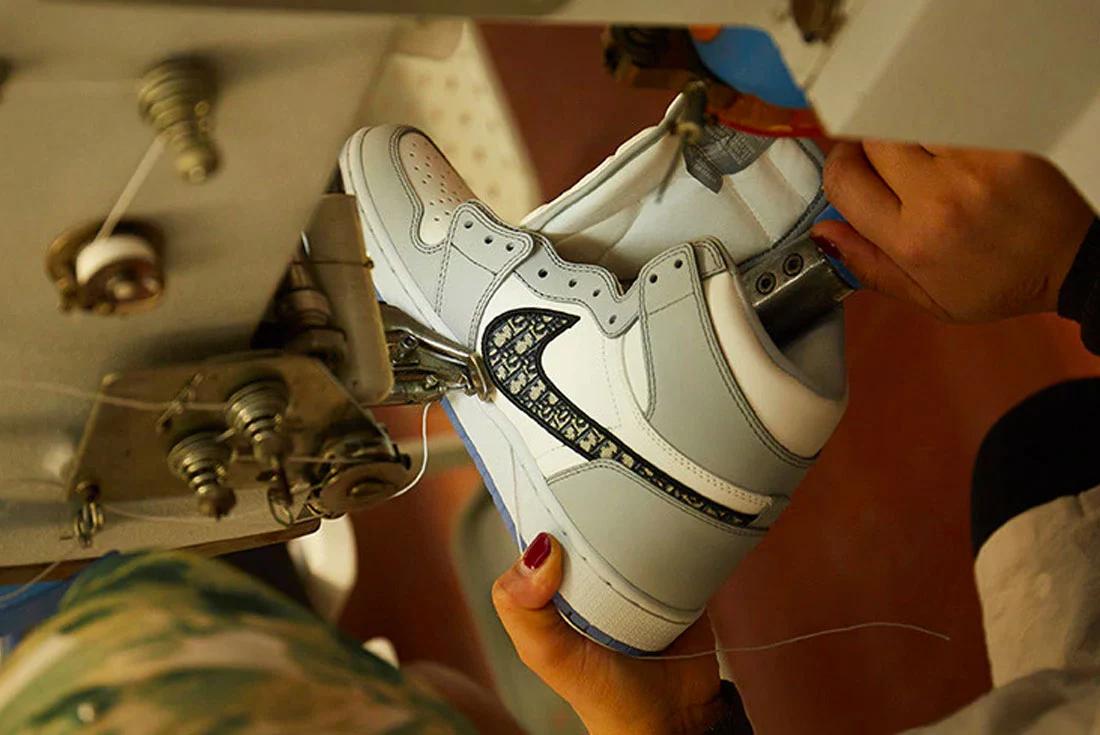 Dior Air Jordan 1 Air Dior