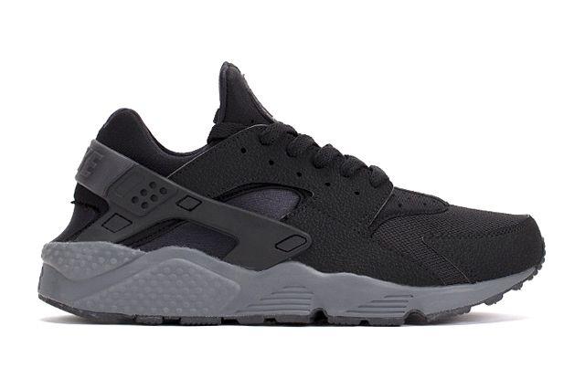 Nike Air Huarache Black Dark Grey 2