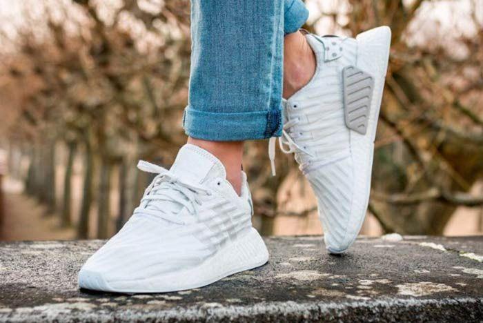 Adidas Nmd R2 Clear Granite 2