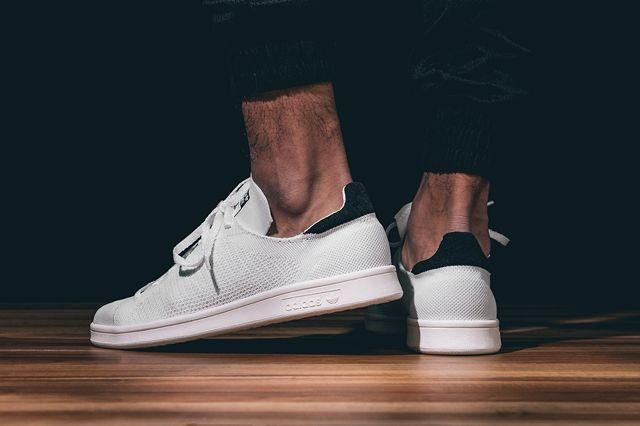 Adidas Stan Smith Primeknit Blak White Bumper 2