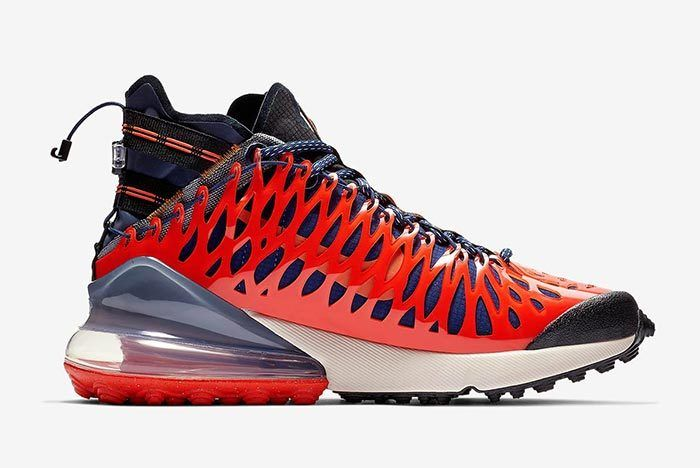 Nike Ispa Air Max 270 Terra Orange 1