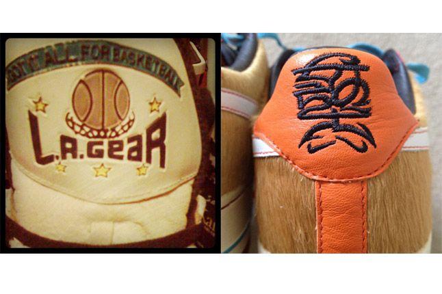 La Gear Nike Logo Sneaker Freaker 1
