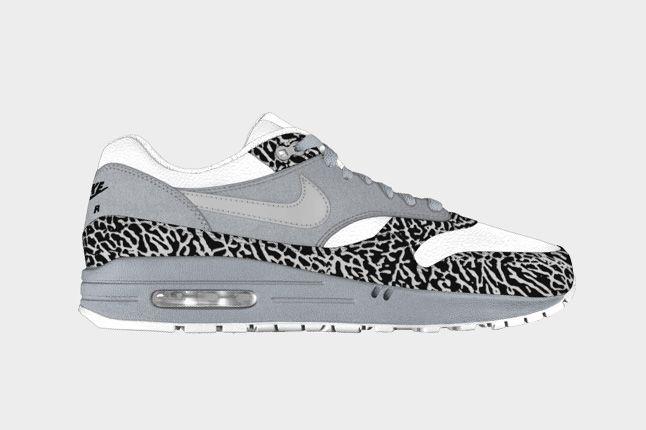 Elephant Print Option For Air Max 1 On Nike Id 4