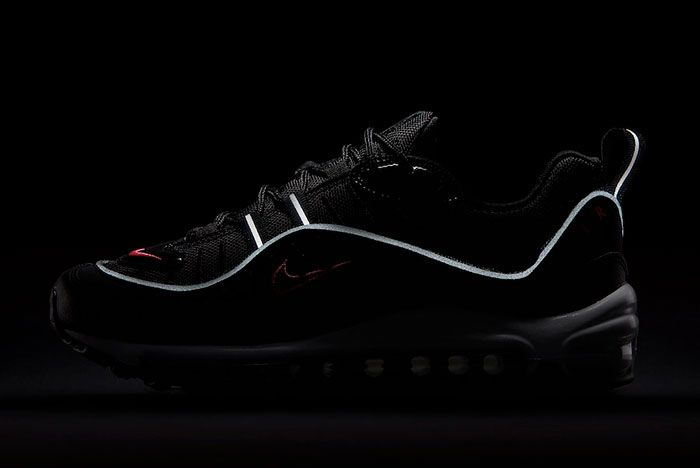 Nike Air Max 98 Black Pink Cn0140 001 Release Date 6 Reflective
