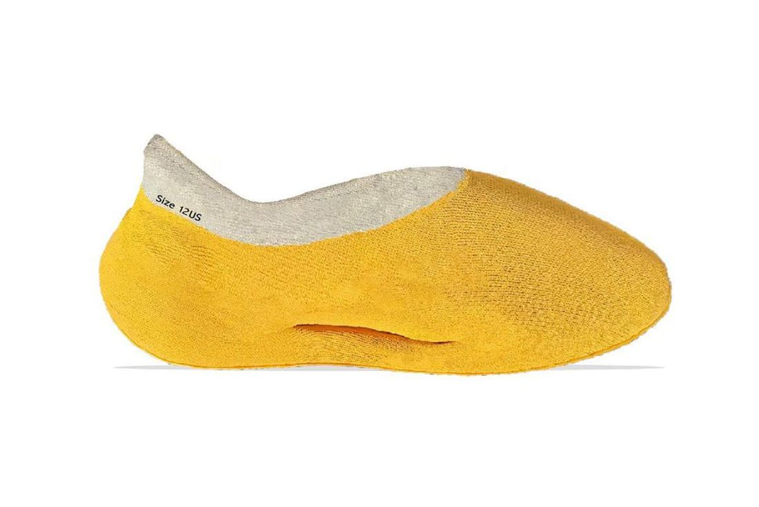 Yeezy Knit Runner Case Power Yellow