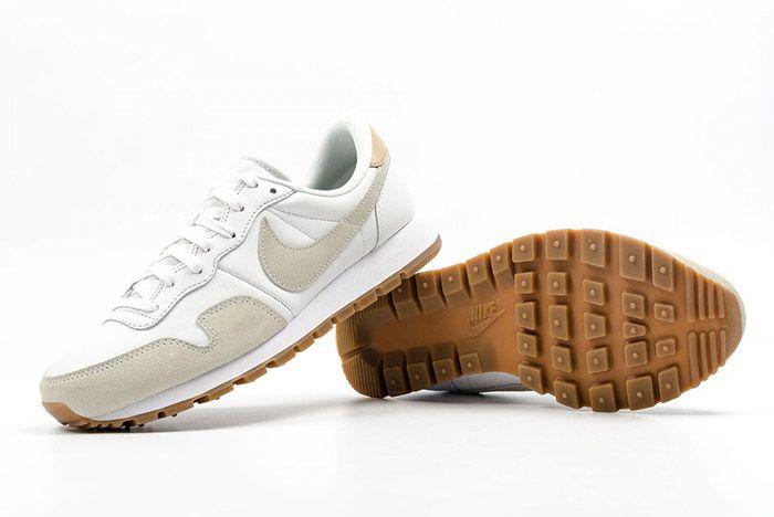 Nike Air Pegasus 83 Premium White Grey Leather 6