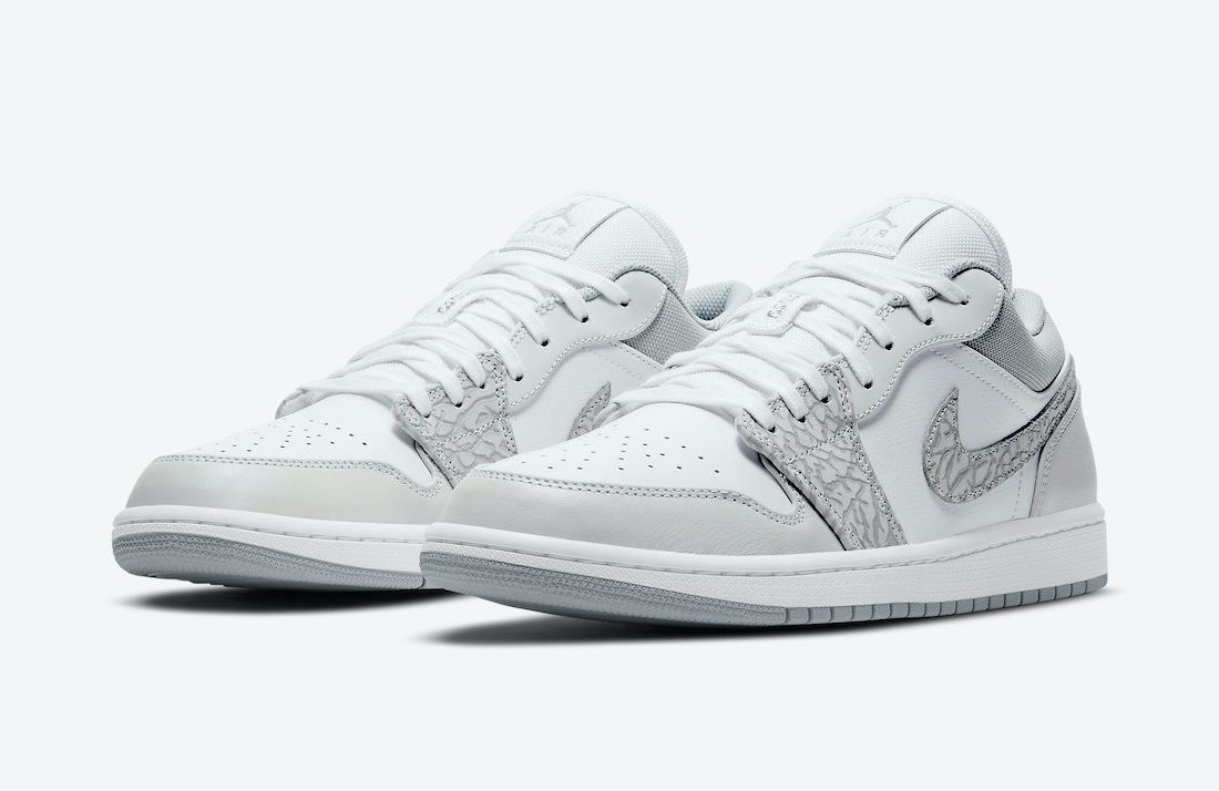 Air Jordan 1 Low Elephant Print