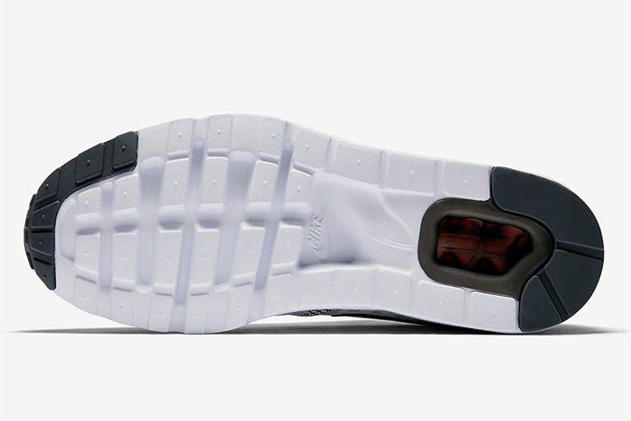 Nike Air Max Zero Dark Grey Summit White Red 3