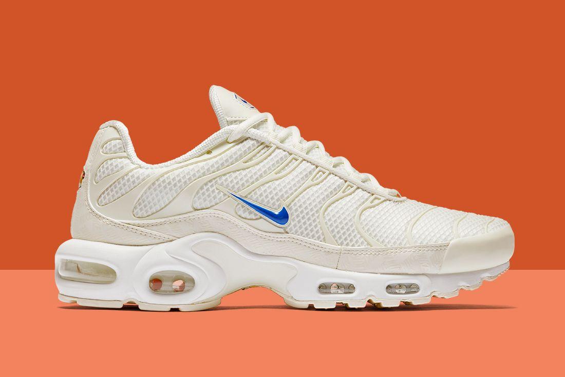 Metallic Blue Swoosh Light Up The Nike Air Max Plus Sneaker Freaker