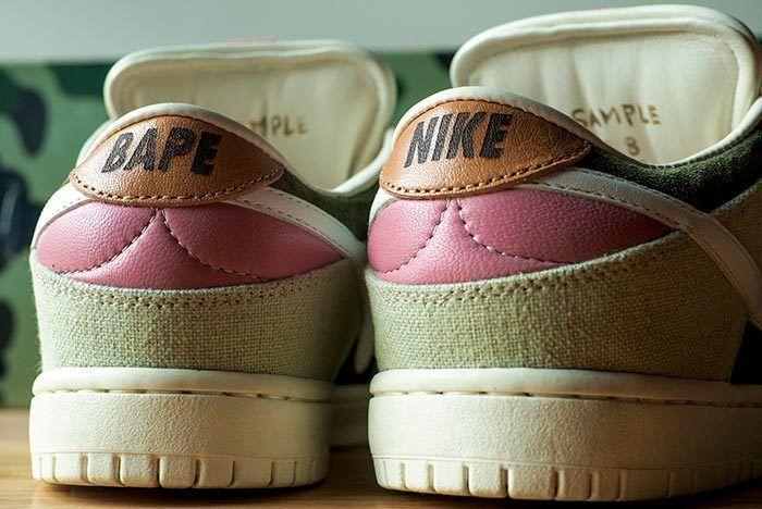 Bespoke Nike Sb Bapesta 4