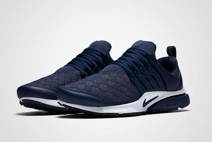Nike Air Presto Woven Navy Blue Thumb