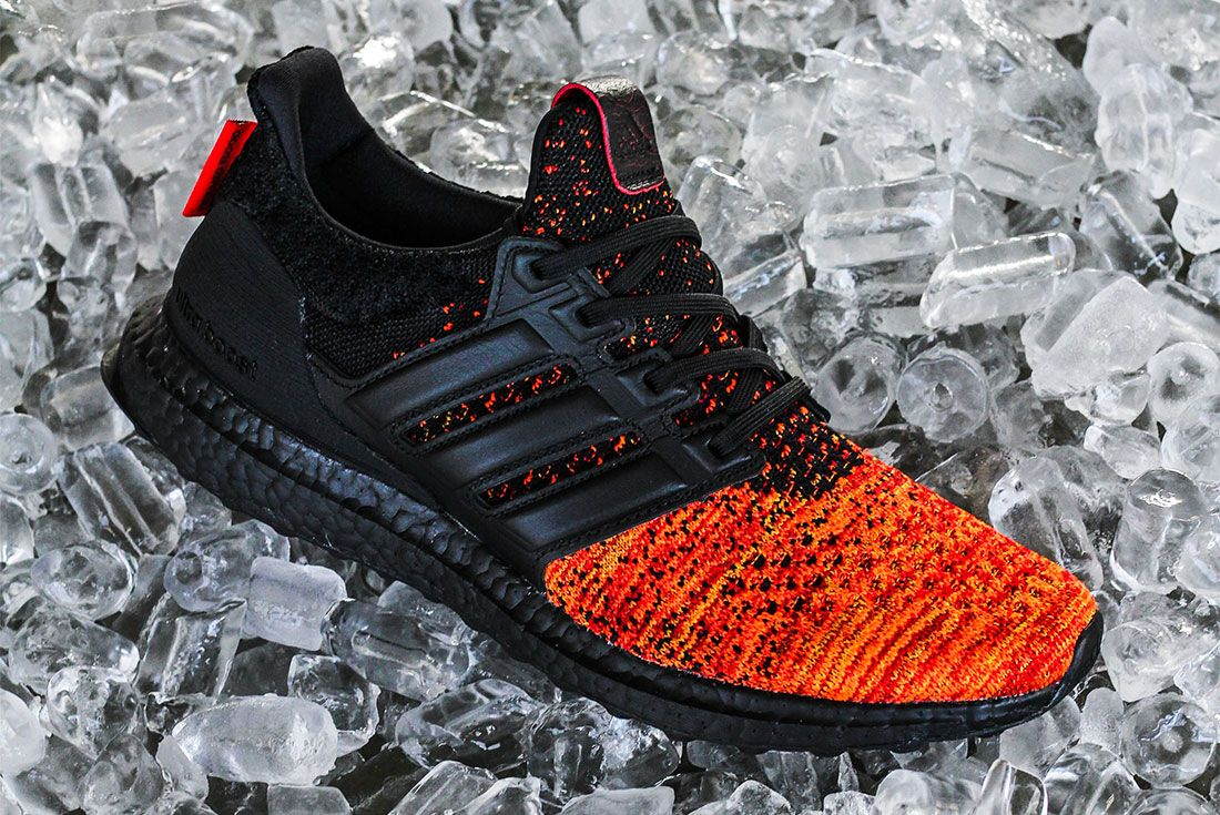 Game Of Thrones Ultra Boost Red Black Side 2