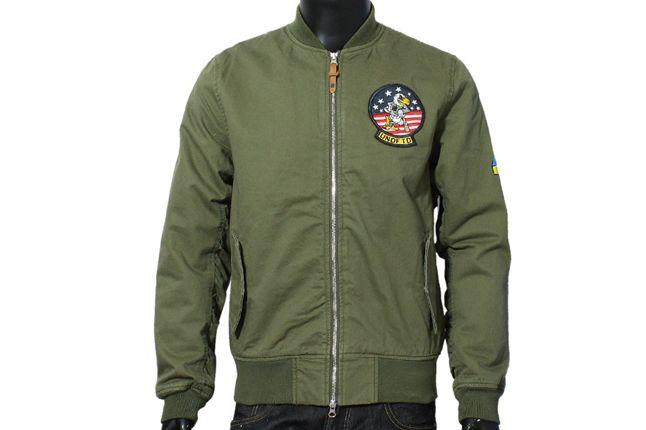 Undefeated Tomcat Jacket Olive 1
