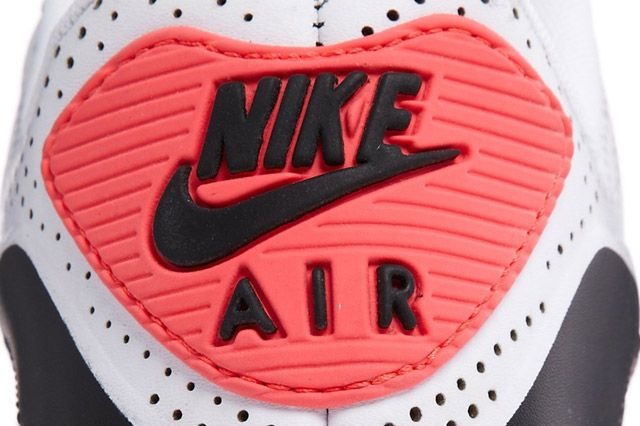 Air Max 90 Leather Qs Heel