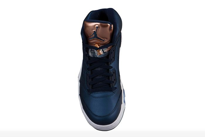 Air Jordan 5 Metallic Blue Bronze 1
