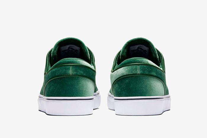 Nike Sb Zoom Stefan Janoski Green Velvet2