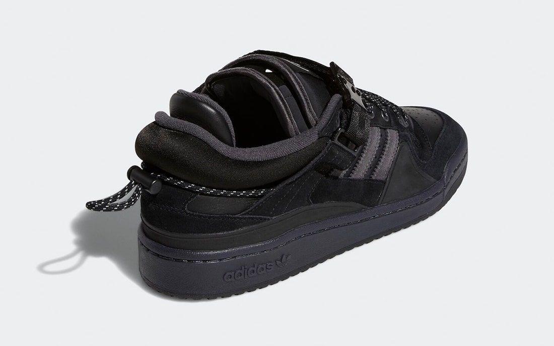Bad Bunny adidas Forum Buckle Low Core Black