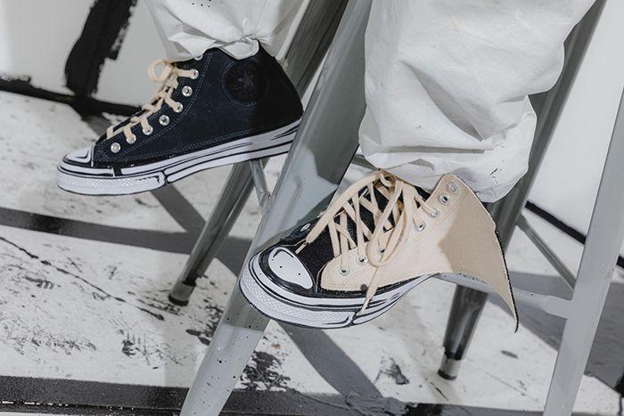 Joshua Vides Converse Chuck 70 High Black White Release Date Hero