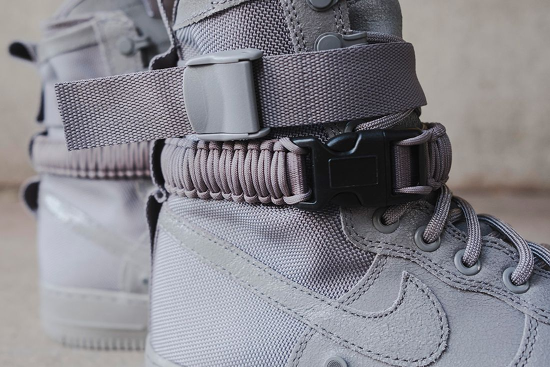 Nike Sf Air Force 1 Grey 10