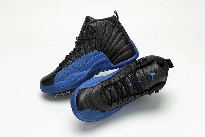 Air Jordan 12 Black Game Royal 130690 014 2019 Release Date 5 Pair