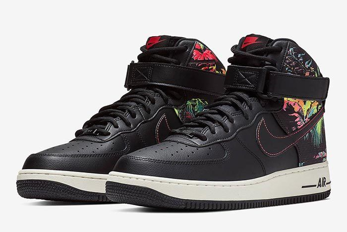 Nike Air Force 1 Floral Front Shoot