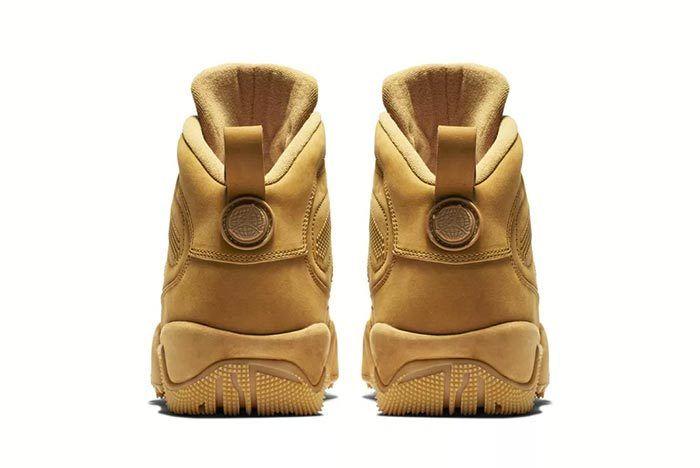 Air Jordan 9 Boot Nrg Wheat 2018 3